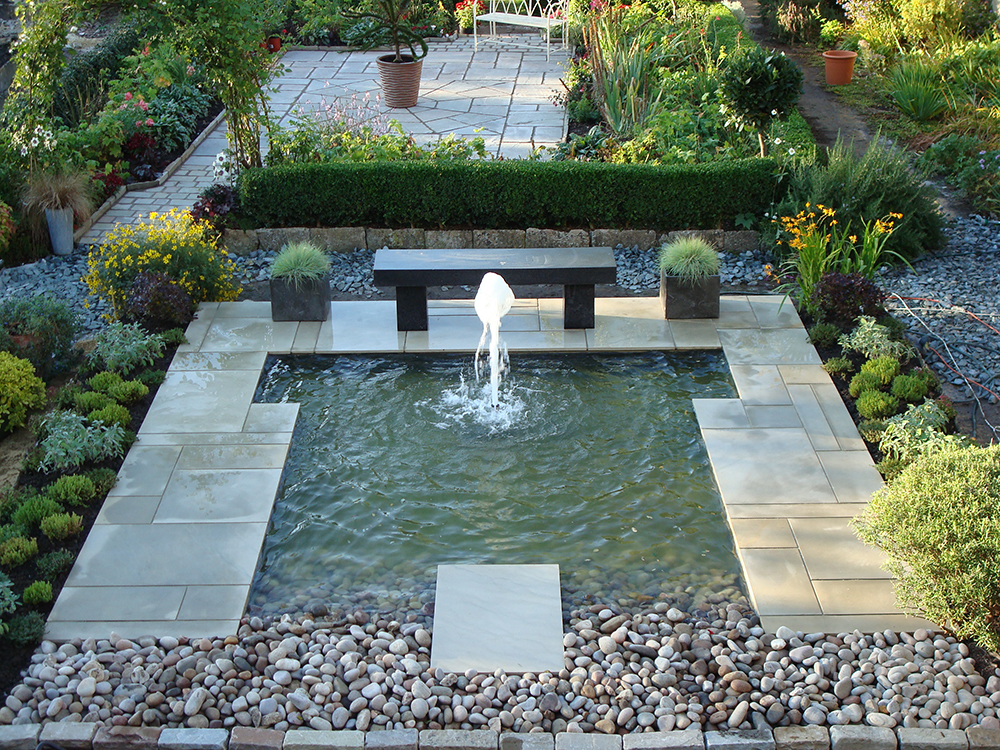 Pond design warwickshire swimming ponds staffordshire for Garden pond pictures designs