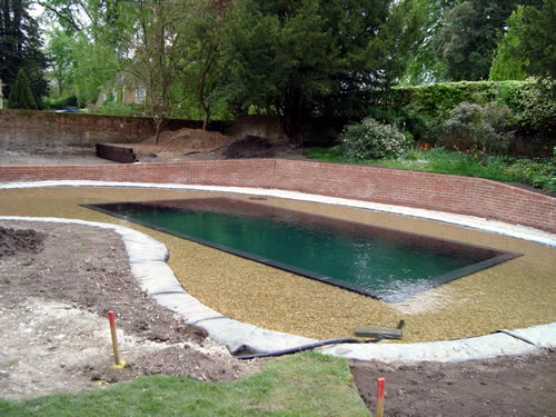 Swimming Pool Pond Liner : Natural swimming pools eco ponds